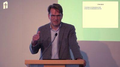 """Prof. Dr. Armin D. Baum: """"Kontextualisierung. Wie unterscheidet man zwischen kulturbedingten und zeitlos gültigen Anweisungen des Neuen Testaments?"""""""