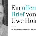 Uwe Holmer schreibt Offenen Brief an den Ratsvorsitzenden der EKD