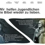 Wir empfehlen jungen Christen: crosspaint.tv und crosstalk